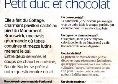 Tribune de Genève – février 2012